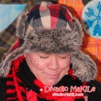 Lienka Kikilienka a prechladnutý Snehuliačik